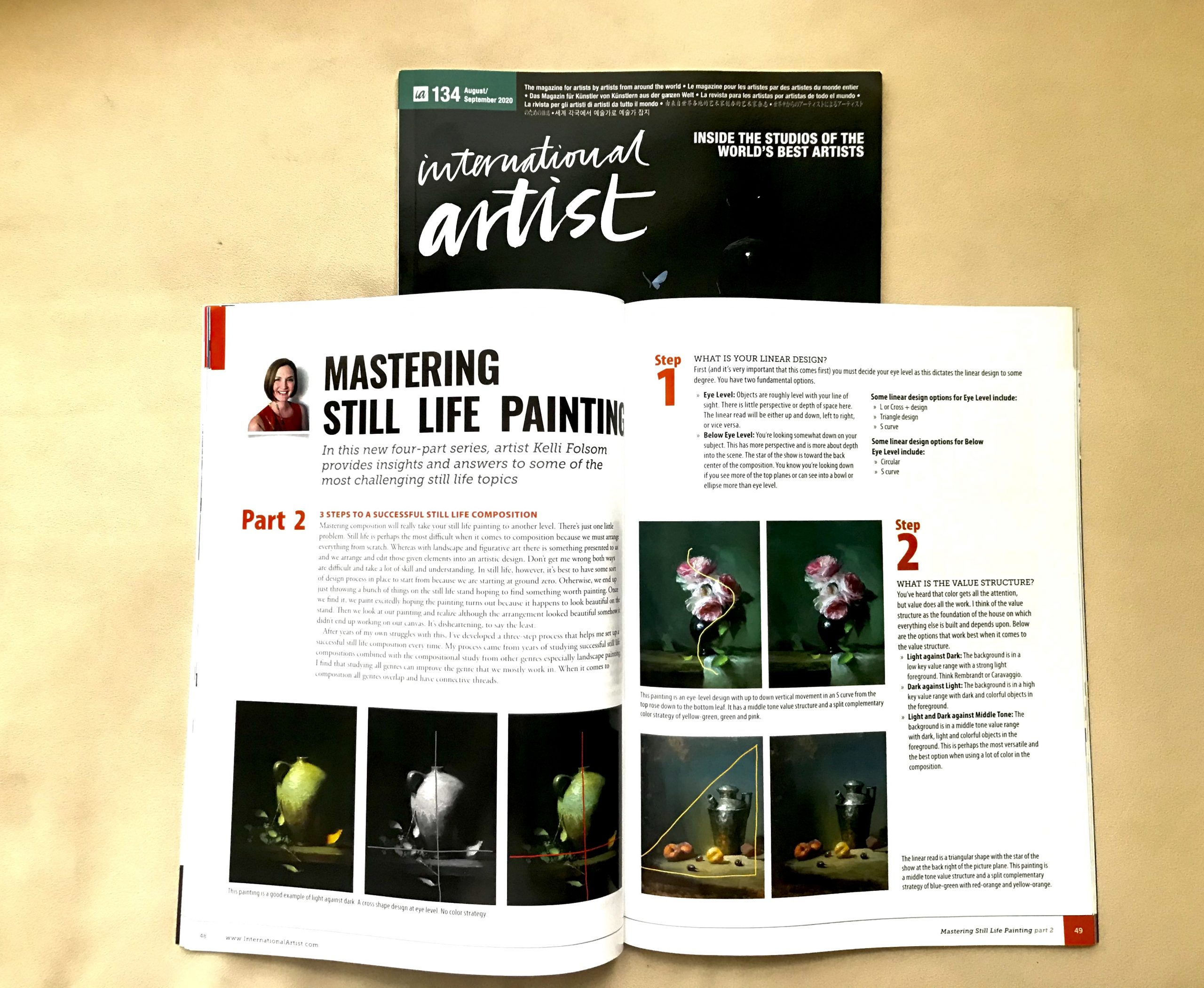 3 Steps to a Successful Still Life Composition