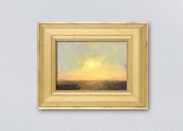 Sunrise Ten Gold Framed by Kelli Folsom