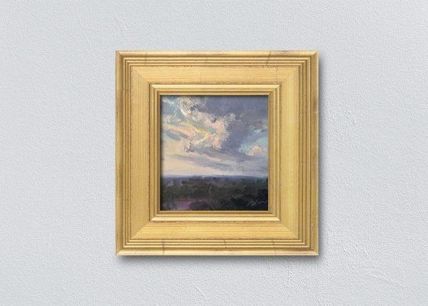 Sunrise Seven Gold Framed by Kelli Folsom.