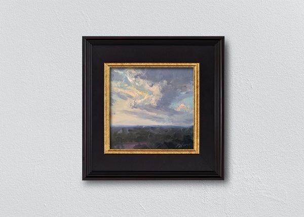 Sunrise Seven Black Framed by Kelli Folsom.