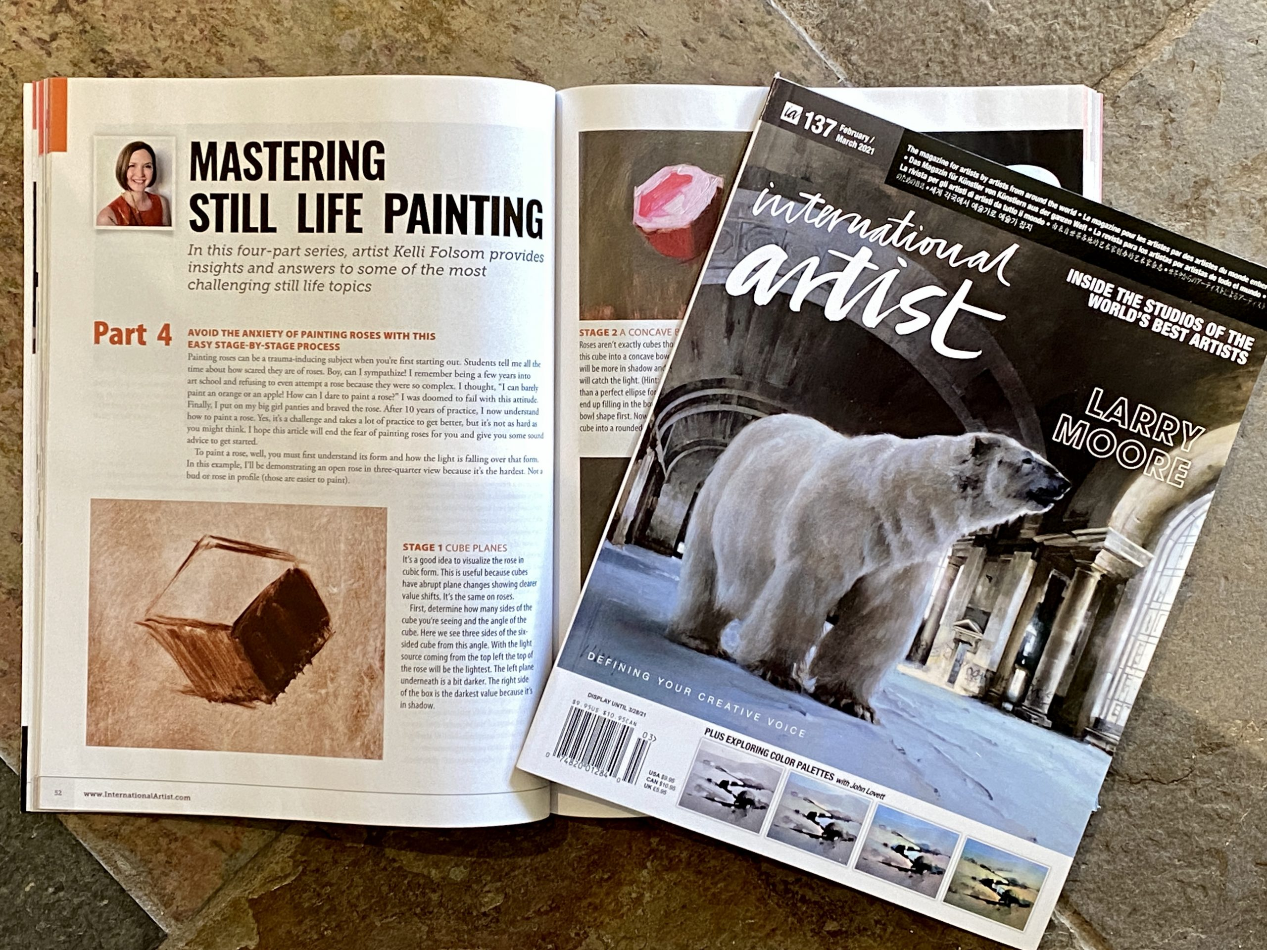 Announcing NEW Tutorial Published in the International Artist Magazine!